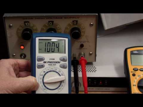 EEVblog #99 - $100 Multimeter Shootout - Extech Amprobe BK Precision Ideal UEi Uni-T PART 2of2