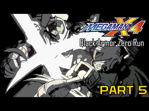 Mega Man X4 - Black Armor Zero Part 05: Colonel | Too Much Gaming