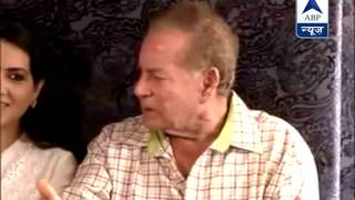 Muslims secure under Modi's leadership: Salim Khan - ABPNEWSTV