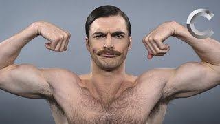 Cómo han cambiado los estándares de la belleza masculina.