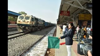 In Graphics:  Gandinagar railway station operated by Women - ABPNEWSTV