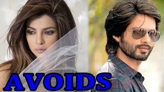Shaid Kapoor and Priyanka Chopra SPOTTED avoiding eachother - EXCLUSIVE