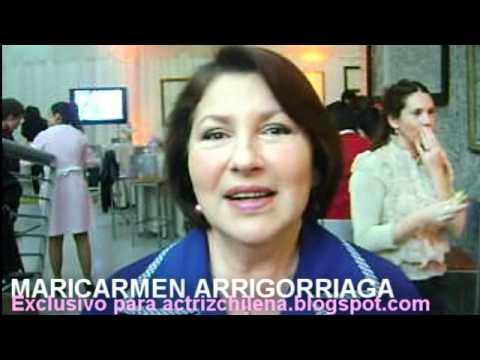Maricarmen Arrigorriaga saluda al blog Actriz Chilena