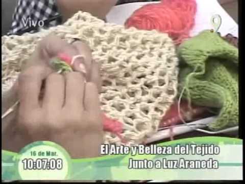 Tejidos con Luz Araneda Poncho de lana
