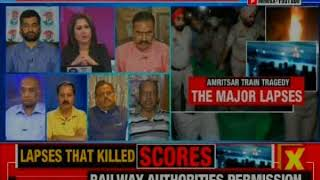 Amritsar train accident: NewsX accesses explosive NOC by cops for event | Nation at 9 - NEWSXLIVE