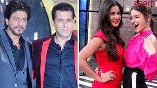 Salman Or SRK, Katrina Or Anushka? | Who Takes The Top Position In December 2017 Times Celebex? - ZOOMDEKHO