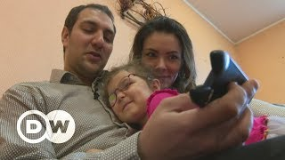 Syrian, Ukrainian husband and wife flee conflict twice | DW English - DEUTSCHEWELLEENGLISH