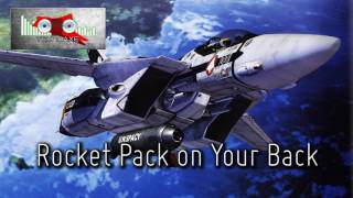 Royalty Free Rocket Pack on Your Back:Rocket Pack on Your Back