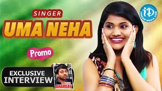 Singer Uma Neha Exclusive Interview - Promo || Talking Movies With iDream - IDREAMMOVIES