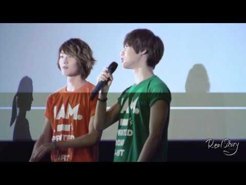 """12O621 cute Taemin """"Onyu-hyung, Onyu-hyung..."""" fancam @ IAM Stage Greeting"""