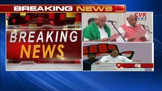 Karnataka Election Results Live Updates : BS Yeddyurappa takes oath as Karnataka's CM | CVR News - CVRNEWSOFFICIAL