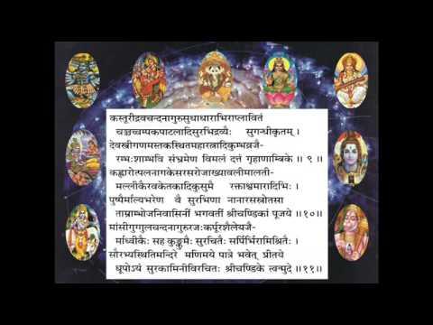 Durga Saptashati – Durga Manas Puja (Pujaa.se )