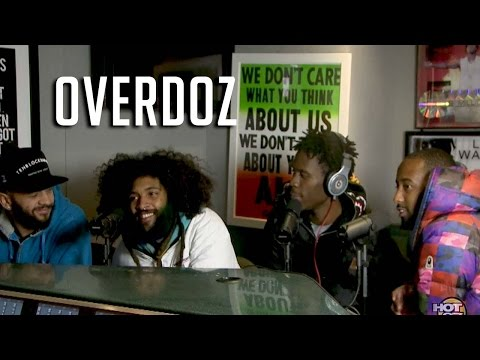 OverDoz. - OverDoz. Interview & Freestyle on Hot 97
