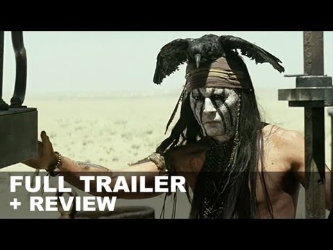 The Lone Ranger 2013 Official Trailer + Trailer Review : HD PLUS