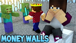 ДРАКА НА БАШНЕ - Minecraft Money Walls (Mini-Game)