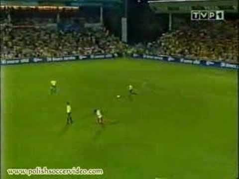 Widzew 2 - 1 Breondby (1996 rok)