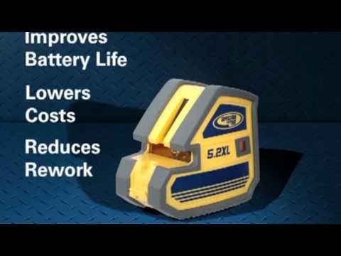 Nivel laser trazador Modelo 5.2 XL spectra precision Subtitulado en español