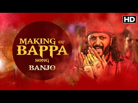 Making Of Bappa Song | Banjo | Riteish Deshmukh