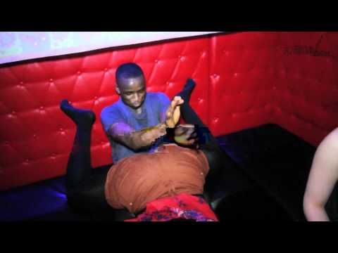 DJ DOUBLE A featuring DJ SEAN bashment rave PART 1 **daggering POLE DANCING**