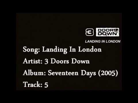 3 Doors Down - Landing In London Lyrics (Video version, without Bob Seger)