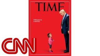 Time defends controversial cover of crying girl - CNN