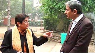 The Kiran Bedi interview that has Ravish Kumar trending - NDTVINDIA