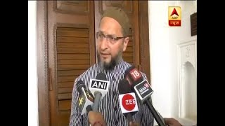 Centre should issue data of minorities' recruitment, says Asaduddin Owaisi - ABPNEWSTV