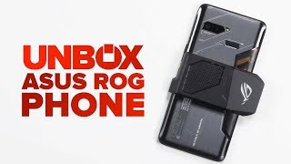 Asus ROG phone unboxing - CNETTV