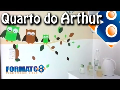 Quarto do Pequeno Arthur - Adesivo de rvore #AdesivoDecorativoDeParede