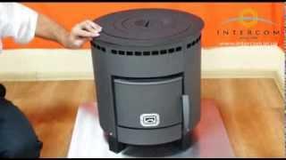 Отопительная печь для дачи Печурка - маленькая и удобная