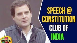 Rahul Gandhi's Speech Remembering E Ahamed at Constitution Club of India | MangoNews - MANGONEWS