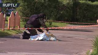 RAW: Knife attack in Russia, 7 injured, assailant killed by police - RUSSIATODAY
