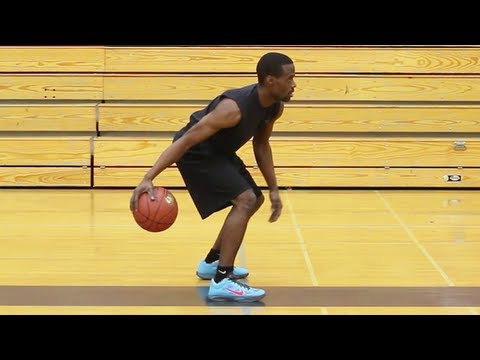 "BASKETBALL DRIBBLE DRILL : ""Figure Eight Drill"" or ""Infinity Drill"" - Shot Science"
