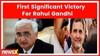 Salman Khurshid: Need to analyse victory & defeat, results favourable to us | Election Result 2018 - NEWSXLIVE