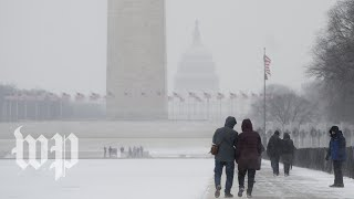Snow is headed to the D.C. region on Tuesday evening - WASHINGTONPOST