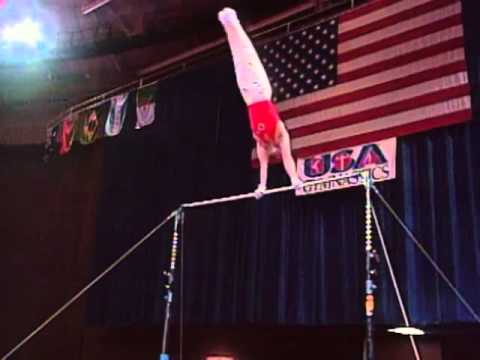 Ilia Giorgadze - High Bar - 1996 McDonald's American Cup