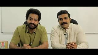 Ram Charan and NTR Latest Video Byte on Preventive Measures | TeluguOne - TELUGUONE