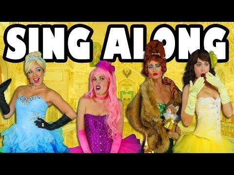 Sing Along Music Video Cinderella vs Ugly Stepsisters Rap Battle. Totally TV
