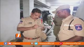 POlice Cordon Search Operation At Upparpally Happy Homes | 123 Bikes And 20 Autos Sized | iNews - INEWS