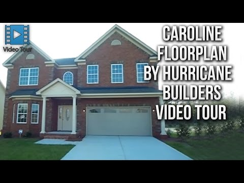 Caroline Floorplan by Hurricane Builders in Columbia SC