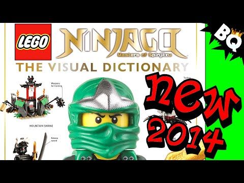 LEGO Ninjago Visual Dictionary by DK Publishing Revealed