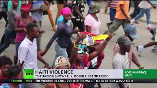 Week of violence rocks Haiti with President under pressure to quit - RUSSIATODAY