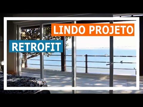 Lindo Projeto Retrofit Ganha Novo Estilo e Conforto Com a Esquadrias Weiku do Brasil