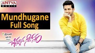 Mundhugane Full Song II Chinnadana Neekosam Movie II Nithin, Mishti Chakraborty - ADITYAMUSIC