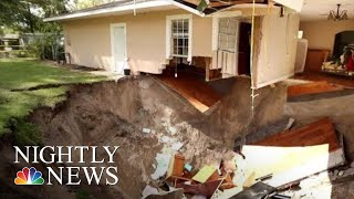 Dozens Of Sinkholes Appear Across Central Florida After Heavy Rain | NBC Nightly News - NBCNEWS