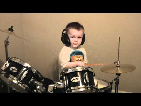 Amazing Kid Drummer