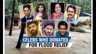 Celebrities who donated for Kerala flood relief - NEWSXLIVE