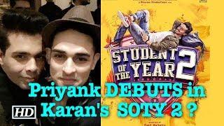 """Priyank Sharma DEBUTS in Karan Johar's """"SOTY 2"""" ? - IANSLIVE"""