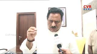 Face to face with Home Minister Chinarajappa on CBI Entry in AP | CBI has to take permission from AP - CVRNEWSOFFICIAL