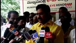 Devineni Uma Maheswara Rao about Mukhyamantri e Eye Kendram | CVR News - CVRNEWSOFFICIAL